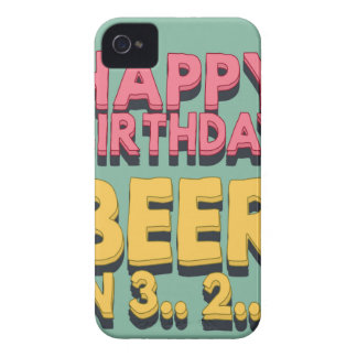 Happy Birthday.. beer in 3.. 2.. 1.. iPhone 4 Case