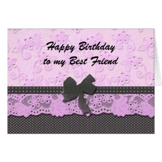 happy birthday best friend card