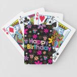 Happy Birthday Bicycle Card Deck