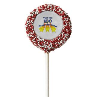Happy Birthday Big 100 Chocolate Covered Oreo Pop