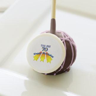 Happy Birthday Big 70 cookies Cake Pops