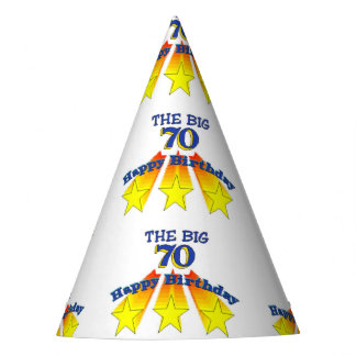 Happy Birthday Big 70 Party Hat