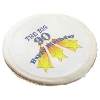 Happy Birthday Big 90 Sugar Cookie