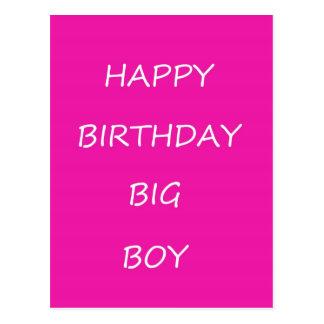 Happy Birthday Big Boy Postcard
