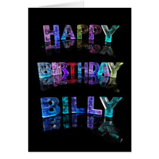 Happy Birthday Billy Card