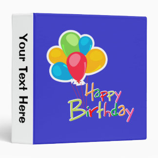 Happy Birthday Binder