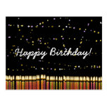 Happy Birthday Birthday Candles Post Cards
