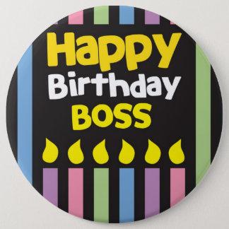 Happy Birthday BOSS! Button