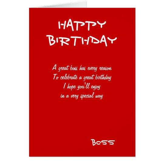 Happy birthday boss greeting cards – Happy Birthday Cards for Boss