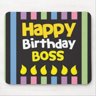 Happy Birthday BOSS! Mouse Pad