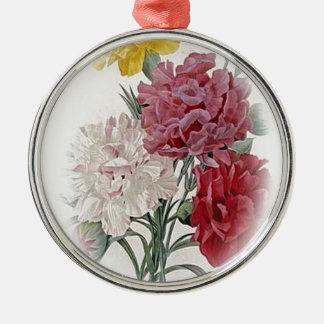 Happy Birthday Bouquet Metal Ornament