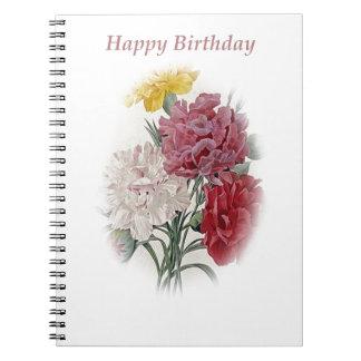 Happy Birthday Bouquet Notebook