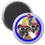 Happy Birthday Boxers magnet