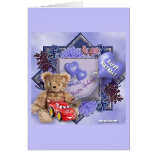 Happy Birthday - Boy Greeting Card