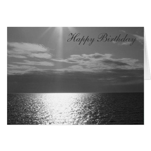 Happy Birthday-Bridge with a view Card