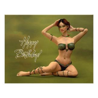 Happy Birthday Bryonia Flyer