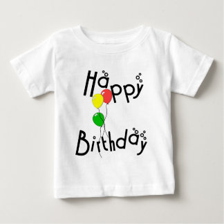 Happy Birthday Bubbles - D7 T-Shirt