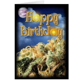 Happy birthday bud card