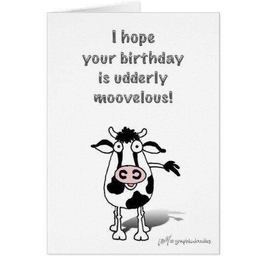 Happy Birthday Bull! Card