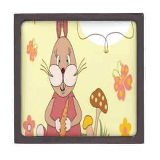 Happy birthday bunny design premium gift boxes
