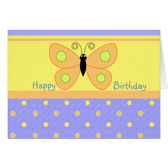 Happy Birthday Butterfly Cards