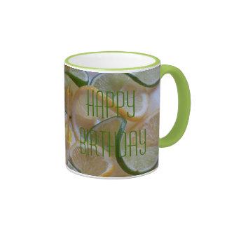 """happy Birthday"" by mysteryella Ringer Coffee Mug"