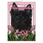 Happy Birthday - Cairn Terrier - Rosco Card