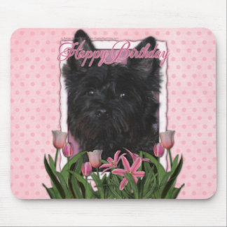Happy Birthday - Cairn Terrier - Rosco Mouse Pad