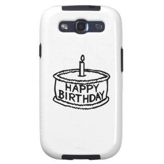 Happy Birthday Cake Galaxy S3 Covers