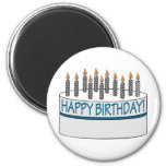 Happy Birthday Cake Fridge Magnet