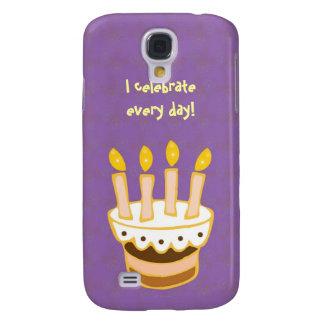Happy Birthday Cake Galaxy S4 Cases