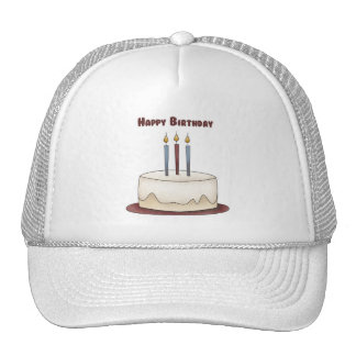 Happy Birthday Cake Trucker Hat