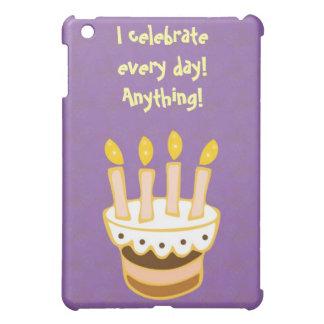 Happy Birthday Cake iPad Mini Covers