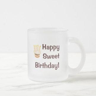 Happy Birthday Cake Mugs