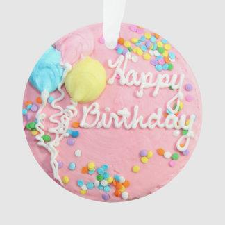 Happy Birthday Cake Ornament
