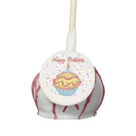 Happy Birthday Cake Pops Cake Pops