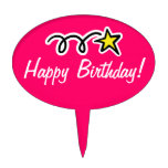 Happy Birthday Cake Topper / Cupcake Pick