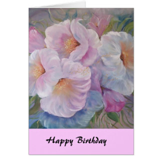 HAPPY  BIRTHDAY CAMELIASCard Card