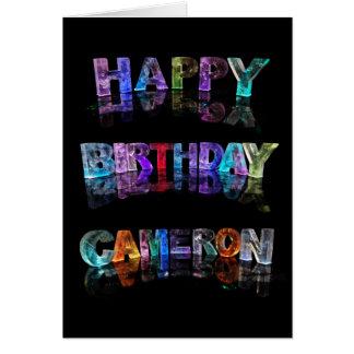 Happy Birthday Cameron Card