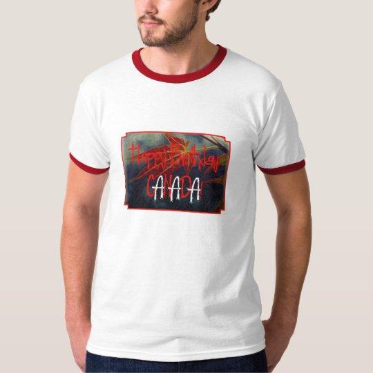 Happy Birthday Canada Mens Shirt