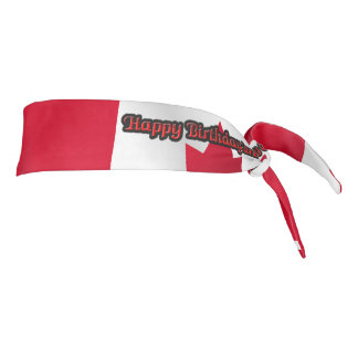 Happy Birthday Canada - Tie Headband