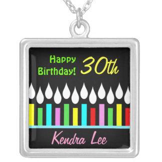 Happy Birthday Candles - Ladies Custom Pendant