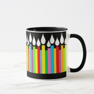 Happy Birthday Candles Mug