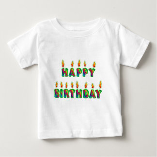 Happy Birthday Candles T-Shirt