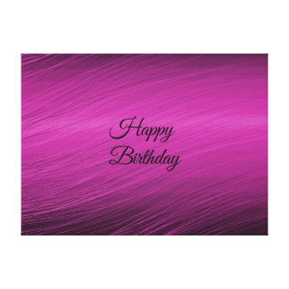 Happy Birthday Stretched Canvas Prints