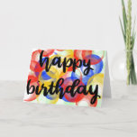 "Happy Birthday card<br><div class=""desc"">Wish them a happy birthday with fun,  bright colors!</div>"