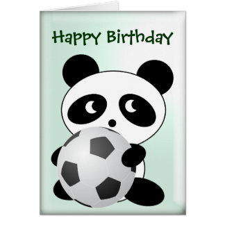 funny soccer birthday greeting cards  zazzle, Birthday card