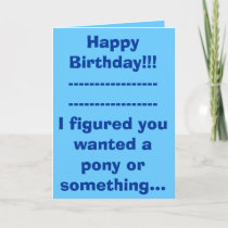 Happy Birthday!!!------------------------------... Card