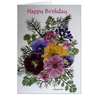 Happy Birthday Card.