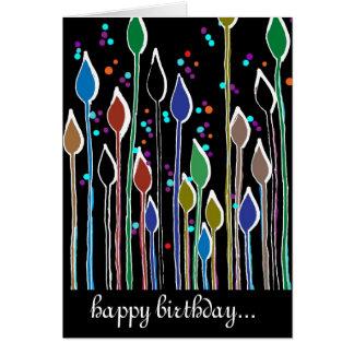 happy birthday card blank inside